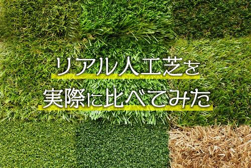 リアル人工芝比較