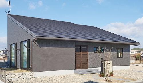 片流れ屋根の建築実例